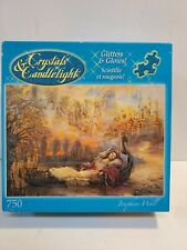 Glitters & Glows Crystals & Candlelight 750 Pcs. Puzzle, Scintille et rougeoie!