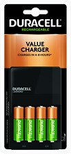 DCH Duracell Charger W/4AA batteries CEF14DX4N