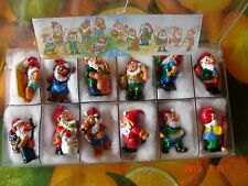 Sorpresine Kinder Gnomi Giardinieri Ferrero--1994 + BOX COMPLETA CARTINA