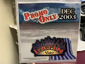PROMO ONLY LATIN DVD DECEMBER 2003 VIDEO SERIES NEW