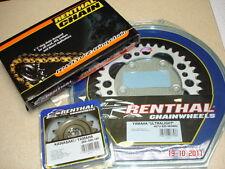 New Renthal Z Chain And Sprocket Kit LTR 450 36T Quad ATV