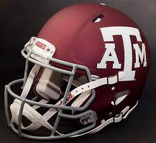 TEXAS A&M AGGIES NCAA Riddell SPEED Full Size Authentic Football Helmet