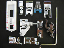 NEW Set of 11 SNAP-ON FEET for WHITE Sewing Machines