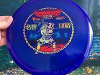 Blueberry Rainbow Disc Golf Innova Japan 2013  OOP  Pristine Roc 3 Roc PDGA 180G