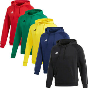 Adidas Mens Core 18 Hoodies Hoody Sweatshirt Fleece Sweat Top Hoodie Navy
