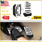 2 Pcs Non-slip Automatic Gas Brake Foot Pedal Pad Cover Car Parts Ship For Free