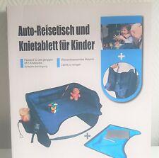 Kinder Reisetisch Knietablett Kindersitz Spieltisch Auto Reisetisch Tragbar OVP