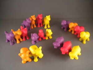 LOT 19 Learning Resources In the Barn Farm Counters ANIMALS pig horse duck cow