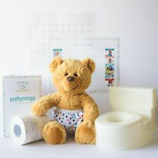 UnderBearz Potty Training Kit-Girls - Give your child a toy to potty train with