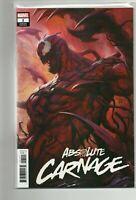 Marvel Absolute Carnage 1 Variant Comic Rare High Grade NM 9.0 Lau Artgerm 2019
