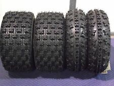 21x7-10 & 20x10-9 QUADKING SPORT ATV TIRES COMPLETE FRONT & REAR 4 TIRE SET