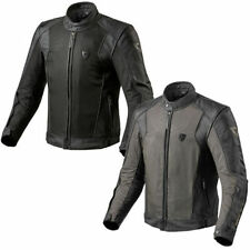 Blousons Rev'it taille en cuir de vache pour motocyclette
