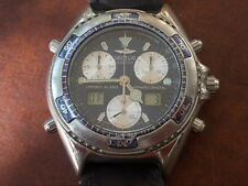 SWISS MADE SECTOR SGE 700 CHRONOGRAPH ALARM , QUARTZ MEN WATCH