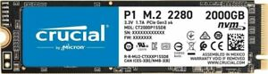 Crucial P1 2TB M.2 Internal SSD (CT2000P1SSD8)