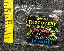 Disney Discovery Island Rubber Keychain New in Package VHTF