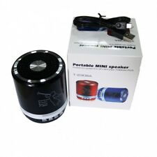 Portable Mini LED Bluetooth Speaker T2308  (RED)