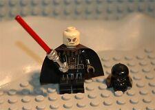 LEGO MINIFIG PERSONNAGE FIGURINE STAR WARS : DARK VADOR + SABRE NEUF