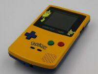 Consola Nintendo Gameboy Color Pokemon Pikachu Edición Especial Amarillo Yellow