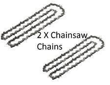 """2 xchainsaw CATENA PER BLACK & DECKER gk540 gk1440 gk1630 gk1635 GK1640 10 """" / 25cm"""