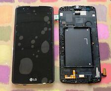 GENUINE LG K8 K350N REPLACEMENT SCREEN FRAME DISPLAY LCD ACQ88830201 BLACK
