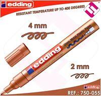 ROTULADOR EDDING MARCADOR COBRE PERMANENTE PROFESIONAL 2 - 4 MM MODELO 750-055