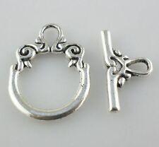 14 Sets Tibetan Silver Switch Toggle Clasps Connectors fit necklace Bracelet