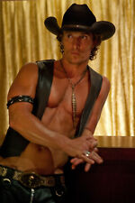 Matthew McConaughey Glossy Poster Picture Photo Print Actor Magic Mike Dallas