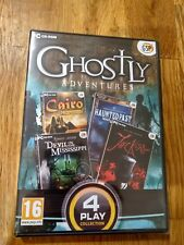 PC - GHOSTLY ADVENTURES - HIDDEN OBJECT 4 GAME PACK (NEW)