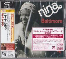 Nina Simone – Baltimore (1978) CTI RVG FIRST EDITION JAPAN SHM-CD Eric Gale