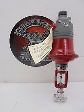 """Research Control 1001GCN36S 316 Stainless 1/4"""" Control Valve w/ Actuator NEW"""