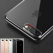New iPhone 7 Hard Thin Crystal Transparent Clear Case Cover Protector - iCase UK