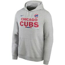 Brand New 2020 Chicago Cubs Nike Color Bar Club Pullover Hoodie Sweatshirt