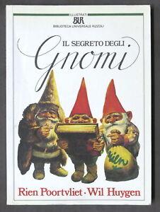 Wil Huygen - Il segreto degli gnomi - illustrazioni di Rien Poortvliet - 1987