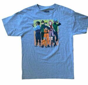 Naruto Shippuden Ripple Junction Gray T Shirt Size Large L