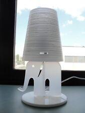 Lampada da Tavolo per bambini ELEFANTLAMP BIANCA EMOPORIUM CL331.14, E27 40W