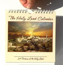 Holy Land of Jesus Christian Wall Desk CALENDAR 2016-2017,2 Years Christmas Gift