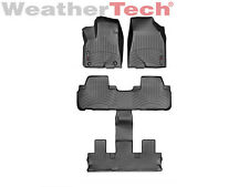 WeatherTech FloorLiner for Toyota Highlander w/Bucket Seats - 2014-2017 -Black