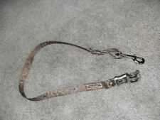 """Poly Trailer Tie, Camo Colors 16 """" To 38"""" Heavy Chrome Snap & Quick Release"""
