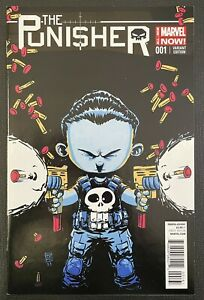 The Punisher #1 - Skottie Young Variant - NM- Marvel 2014