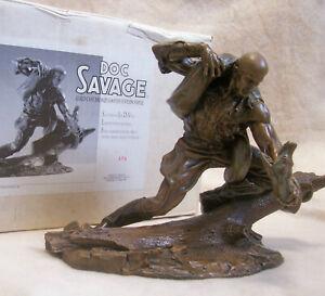 Doc Savage Cold Cast Bronze L/E Statue by Joe DiVito #179/298 Graphitti Designs