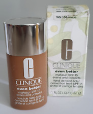 Clinique Even Better SPF 15 liquid foundation 30ml Toffee