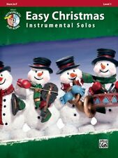 Easy Christmas Instrumental Solos for Horn in F - Instrumental Book/CD 33286