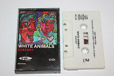 Ecstasy by White Animals (1984 Dread Beat Records DBC)--Cassette Tape w/Case