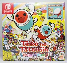 TAIKO NO TATSUJIN DRUM'N'FUN DRUM SET - NINTENDO SWITCH PAL ESPAÑA AND FUN NUEVO