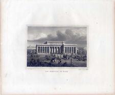 Wien - Burgthor - Österreich - Stahlstich 1840 - Vienna