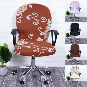 1PC Office Chair Cover Computer Chair Cover Swivel Chair Seat Protector Covers