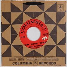 BUZZ CLIFFORD: Baby Sittin' Boogie USA COLUMBIA Rockabilly 45 VG+ Hear
