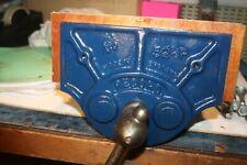 Vintage Collectable Record Carpenters Bench Vice no 52 1/2 P England