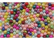 100 Stück Acrylperlen bunte Perlen 8mm #83-019