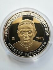 VATICAN 2007 Monnaie Essai 10 Euro Specimen Pape Benoît XVI Prueba. Trial. Probe